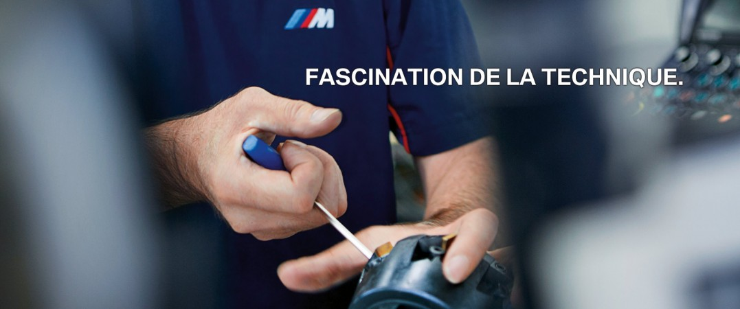 FASCINATION DE LA TECHNIQUE. BMW.